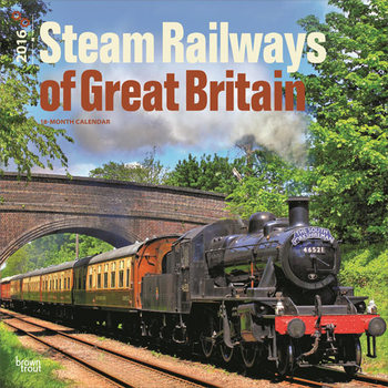 Kalenteri 2018 Steam Railways of Great Britain