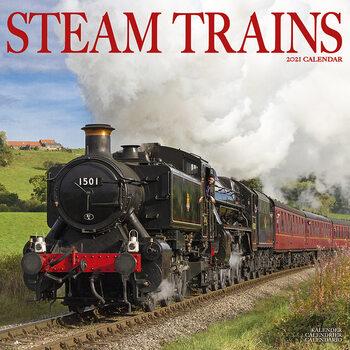 Kalenteri 2021 Steam Trains