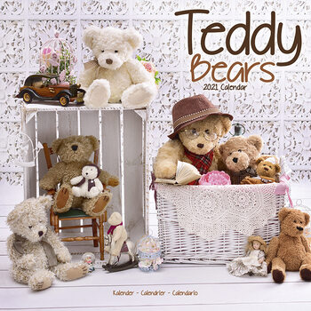 Kalenteri 2021 Teddy Bears