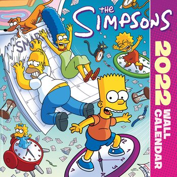 Kalenteri 2022 The Simpsons
