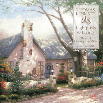 Kalenteri 2018  Thomas Kinkade - Lightposts for Living