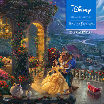 Kalenteri 2019  Thomas Kinkade - The Disney Dreams Collection