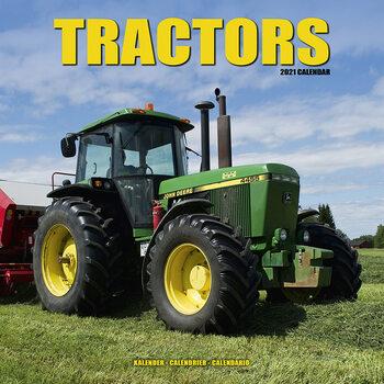 Kalenteri 2021 Tractors