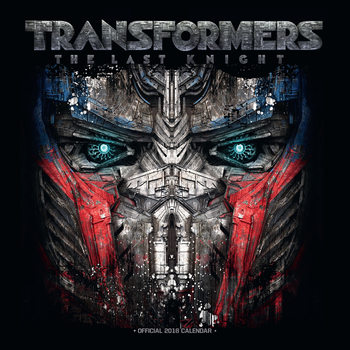 Kalenteri 2018 Transformers