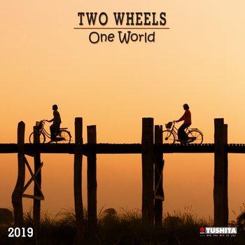 Kalenteri 2019  TWO wheels - ONE world