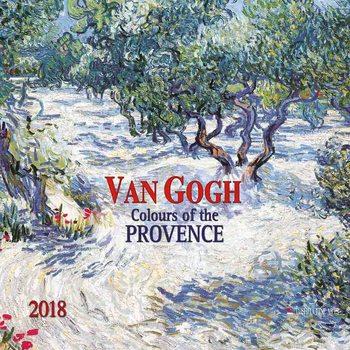 Kalenteri 2018  Vincent van Gogh - Colours of the Provence