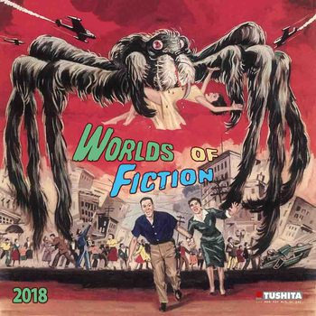 Kalenteri 2018 Worlds of Fiction