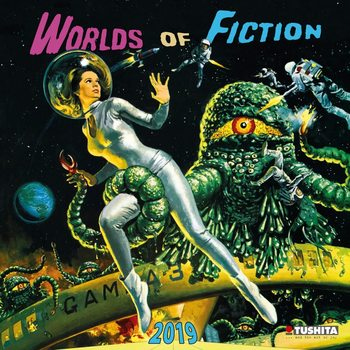 Kalenteri 2019  Worlds of Fiction