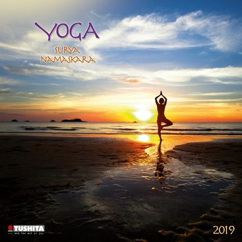 Kalenteri 2019  Yoga Surya Namaskara