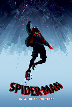 Spider-Man: Kohti Hämähäkkiversumia - Fall Kehystetty laminoitu juliste