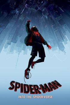 Spider-Man: Paralelní světy - Fall Kehystetty laminoitu juliste