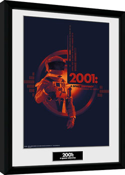 2001 A Space Odyssey - Graphic Kehystetty juliste