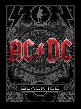 AC/DC - Black Ice Kehystetty juliste
