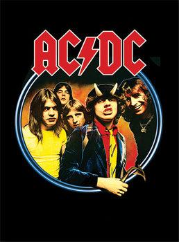 AC/DC - Group Kehystetty juliste
