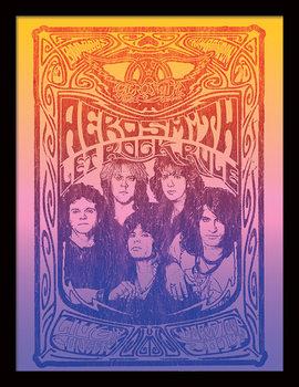Aerosmith - Let Rock Rule Kehystetty juliste