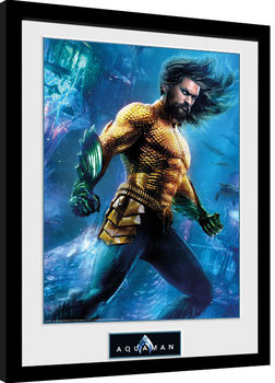 Aquaman - Arthur Curry Kehystetty juliste