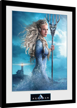 Aquaman - Atlanna Kehystetty juliste