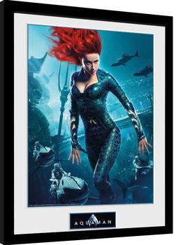 Aquaman - Mera Kehystetty juliste