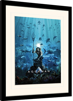 Kehystetty juliste Aquaman - Teaser