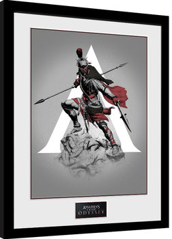 Assassins Creed Odyssey - Graphic Kehystetty juliste