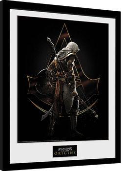 Assassins Creed: Origins - Assassin Kehystetty juliste