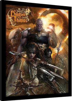 Avengers Infinity War - Children of Thanos Kehystetty juliste