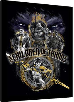 Avengers Infinity War - Children of Thanos Stencil Kehystetty juliste