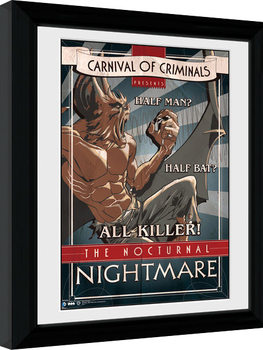 Batman Comic - Circus Nocturnal Nightmare Kehystetty juliste