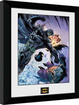 Batman Comic - Fist Fight Kehystetty juliste
