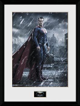 Batman Vs Superman - Superman Kehystetty juliste