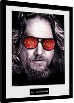 Big Lebowski - The Dude Kehystetty juliste