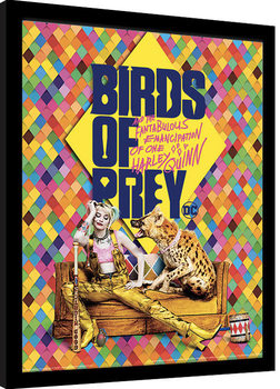 Birds Of Prey: And the Fantabulous Emancipation Of One Harley Quinn - Harley's Hyena Kehystetty juliste