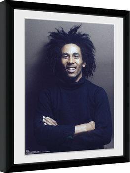 Bob Marley - Wall kehystetty lasitettu juliste