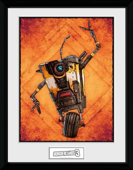 Borderlands 3 - Claptrap Kehystetty juliste