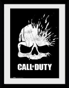 Call Of Duty - Logo Skull Kehystetty juliste
