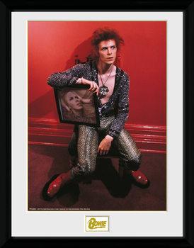 David Bowie - Chair Kehystetty juliste