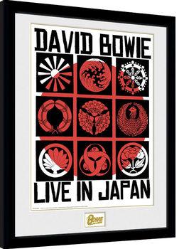 David Bowie - Live In Japan Kehystetty juliste