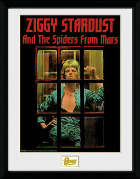 David Bowie - Ziggy Stardust Kehystetty juliste
