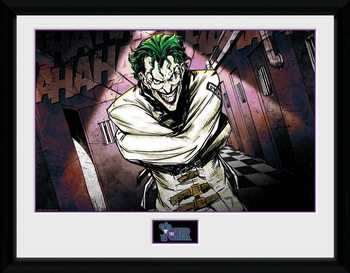 DC Comics - Asylum Kehystetty juliste