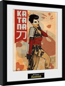 DC Comics - Katana Bombshells Kehystetty juliste