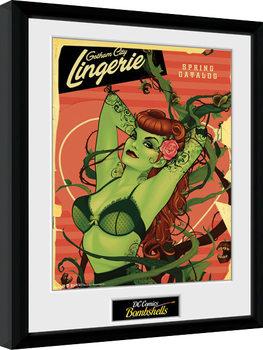 DC Comics - Poison Ivy Bombshells Kehystetty juliste