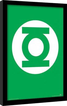 DC Comics - The Green Lantern Kehystetty juliste