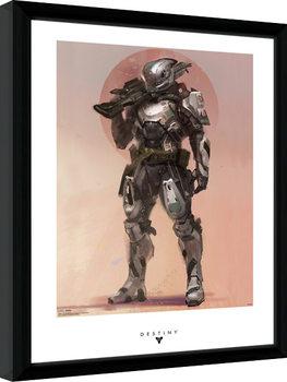 Destiny - Titan kehystetty lasitettu juliste