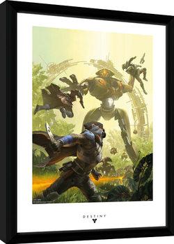 Destiny - Vex Kehystetty juliste