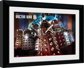 Doctor Who - Daleks Kehystetty juliste