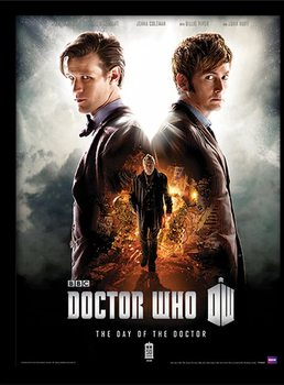 DOCTOR WHO - day of the doctor Kehystetty juliste