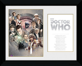 Doctor Who - Doctors Kehystetty juliste