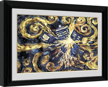 Doctor Who - Exploding Tardis Kehystetty juliste