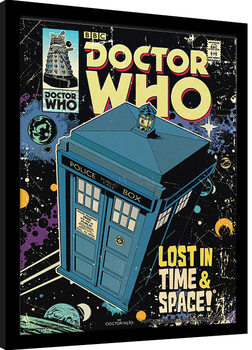 Doctor Who - Lost In Time And Space Kehystetty juliste