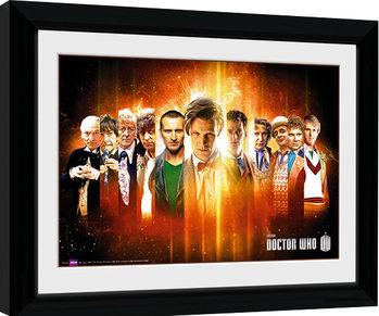 Kehystetty juliste Doctor Who - Regenerate